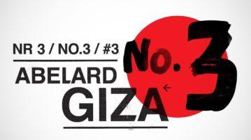 Abelard Giza - Numer 3