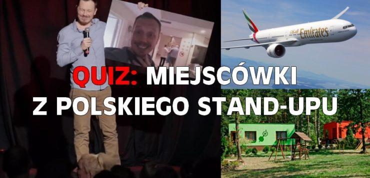Quiz - miejscówki z polskiego stand-upu
