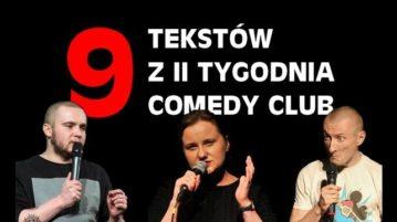 9 tekstów z Comedy Club CC