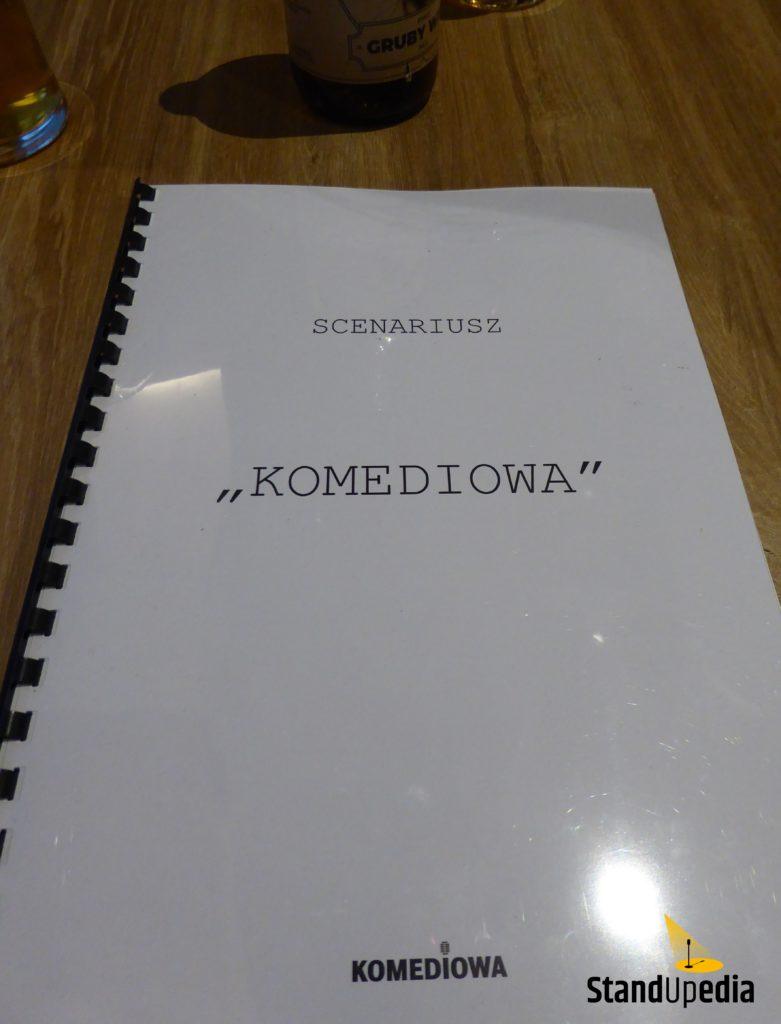 Restauracja Komediowa - menu