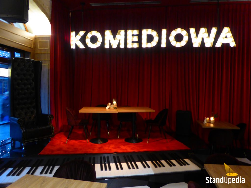 Restauracja Komediowa - scena