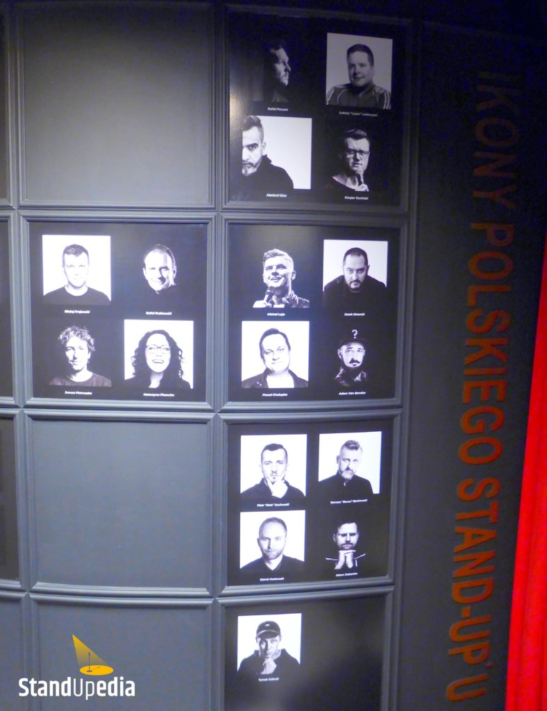 Restauracja Komediowa - ikony stand-upu