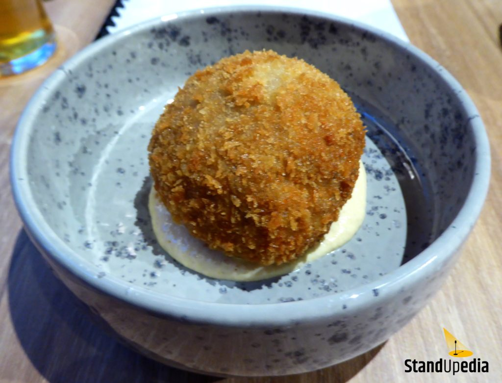 Restauracja Komediowa - szkockie jajko