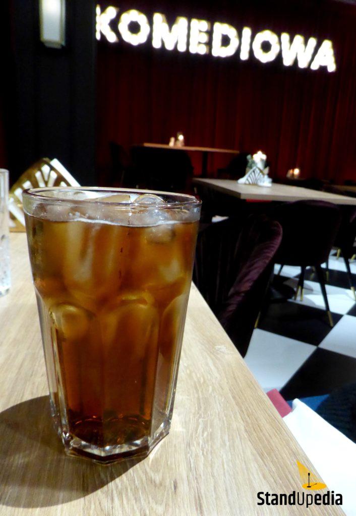 Restauracja Komediowa - drink Emirates