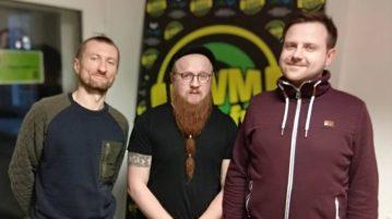 Karol Kopiec i Adam Sobaniec w Radio UWM FM