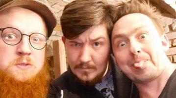Pałubski, Poczęty i Łaszkiewicz w UWM FM