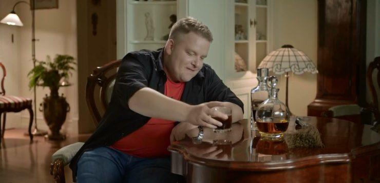 Łukasz Lotek Lodkowski w Drunk History