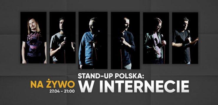 Stand-up Polska na Żywo w Internecie