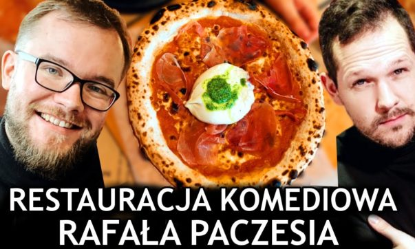 Maciek je w Komediowej Rafała Paczesia
