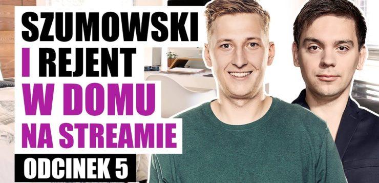 Szumowski i Rejent w domu na streamie 005