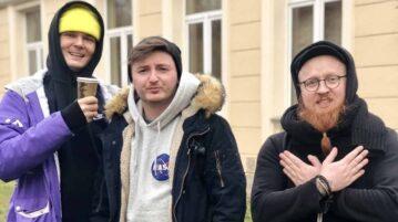 Arkadiusz Jaksa Jakszewicz i Maciek Adamczyk