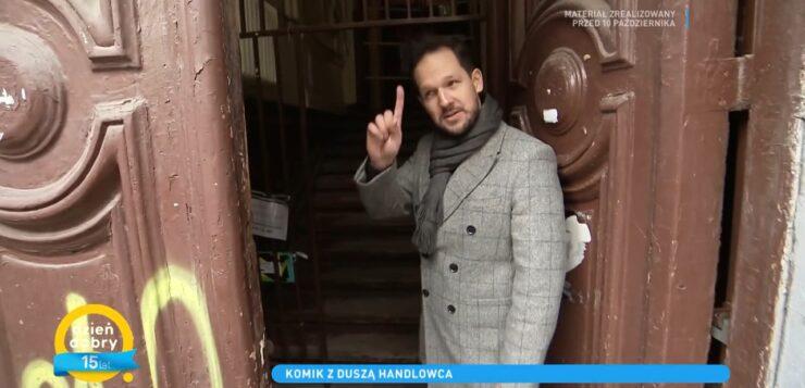 Rafał Pacześ w Dzień Dobry TVN