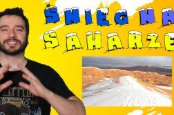 Newsy bez wirusa - śnieg na Saharze