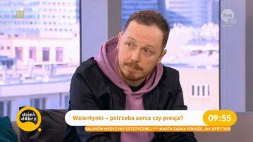 Antoni Syrek-Dąbrowski w Dzień Dobry TVN