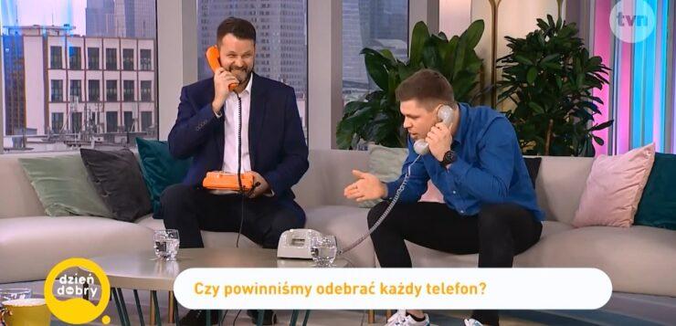 Filip Puzyr w Dzień Dobry TVN