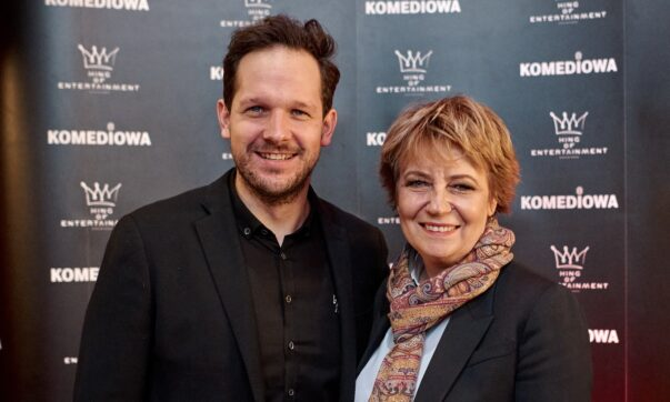 Hanna Zdanowska i Rafał Pacześ