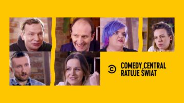Comedy Central Ratuje Świat