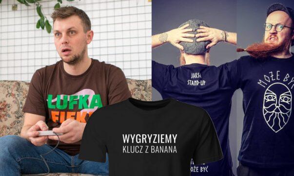 Nowe koszulki stand-uperów