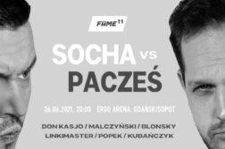 Socha vs Pacześ na Fame MMA 11