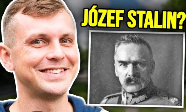 Błażej Krajewski sprawdza wiedzę z historii