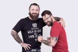 Maciej Lobo Linke i Jakub Ćwiek