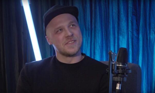 Tomek Rynkiewicz - polski stand-uper z Wilna