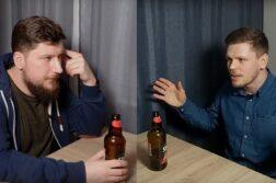 Piotr Splin i Filip Puzyr