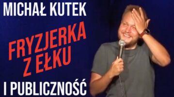 Michał Kutek i publiczność - Fryzjerka z Ełku