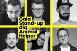 Gala Stand-up dla Animal Helper
