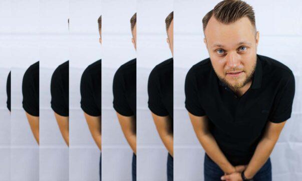 Michał Kutek w Radio Kampus
